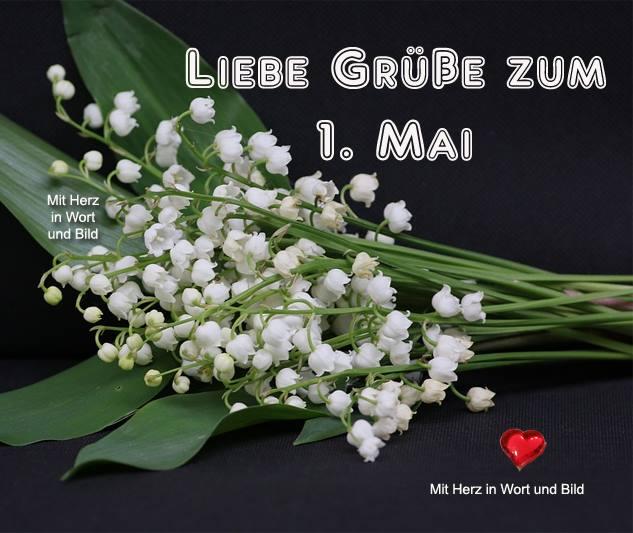 Liebe Grüße zum 1. Mai