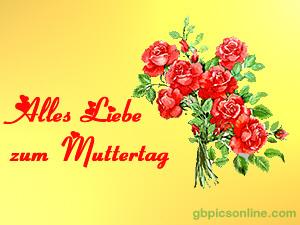 Alles Liebe zum Muttertag.