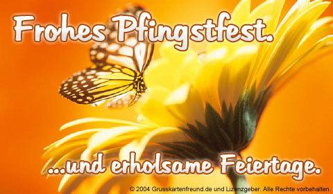 Frohes Pfingstfest ...und...