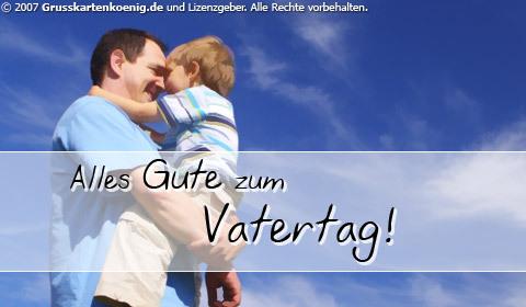 Alles Gute zum Vatertag!