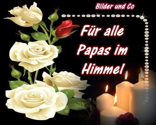 Für alle Papas im Himmel