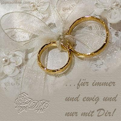 ...für immer und ewig und nur mit Dir!