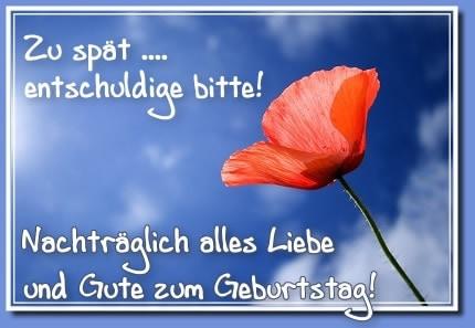 ᐅ Geburtstag Nachtraglich Bilder Geburtstag Nachtraglich Gb Pics