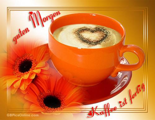 Guten Morgen... Kaffee ist fertig