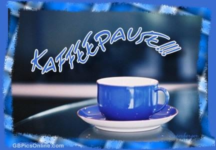 Kaffeepause!!!