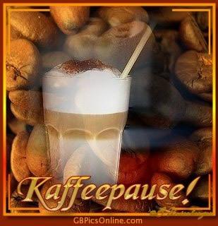 Kaffeepause!