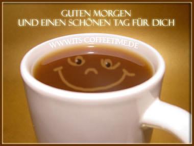 Guten Morgen Und Einen Schönen Tag Für Dich Kaffee Bild 12652