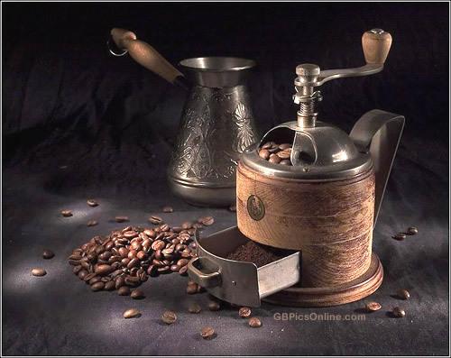 Edle Kaffeemühle