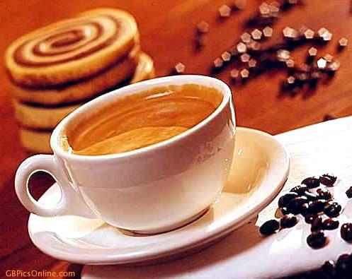 Zeit für einen gemütlichen Kaffee