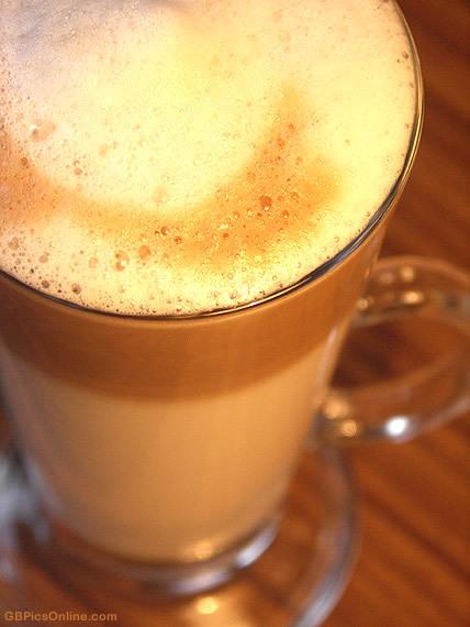 Nahaufnahme von einem Kaffee