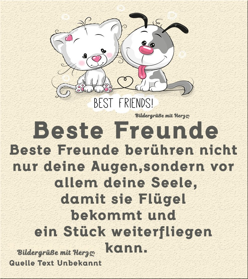 beste freundin vermissen