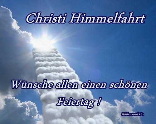 Christi Himmelfahrt...