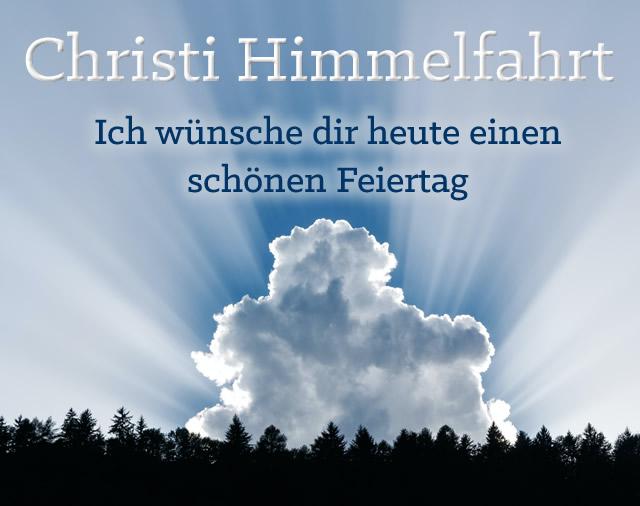 Christi Himmelfahrt - Ich wünsche dir...