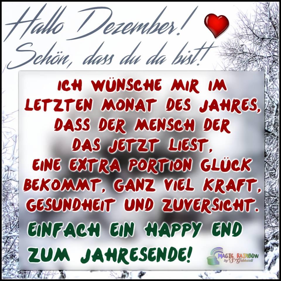 Hallo Dezember! Schön, dass du da bist! Ich wünsche mir im ...