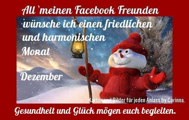 All' meinen Facebook-Freunden wünsche...
