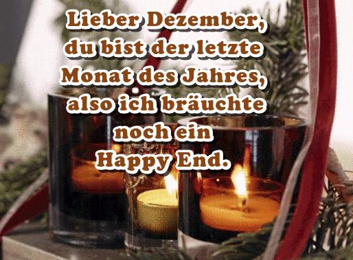 Lieber Dezember, du bist der...