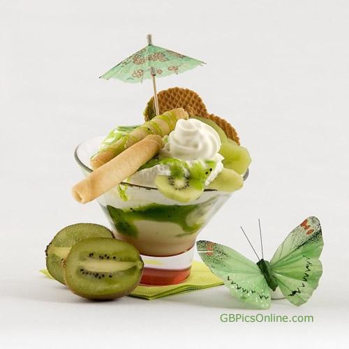 Grüner Eistraum