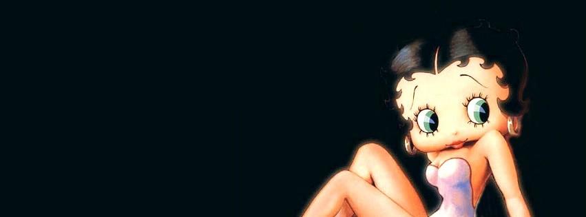 Posierende Betty Boop vor...