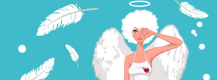Comic-Engel lässt Federn