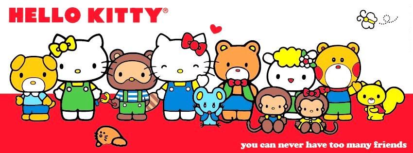 """Die """"Hello-Kitty""""-Familie"""