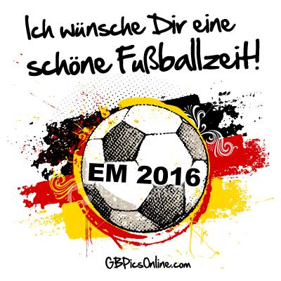EM 2016 - Ich wünsche Dir...