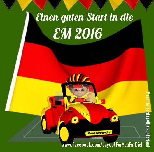 Einen guten Start in die EM 2016