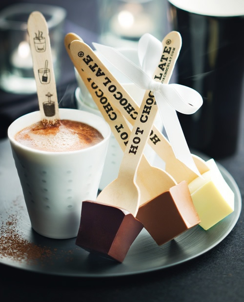 Ästhetik und heiße Schokolade