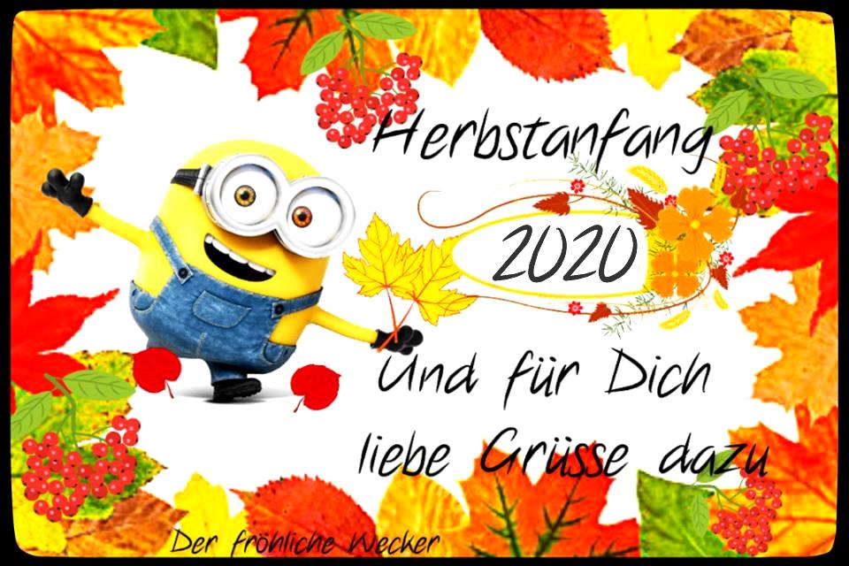 Herbstanfang 2020 und für...