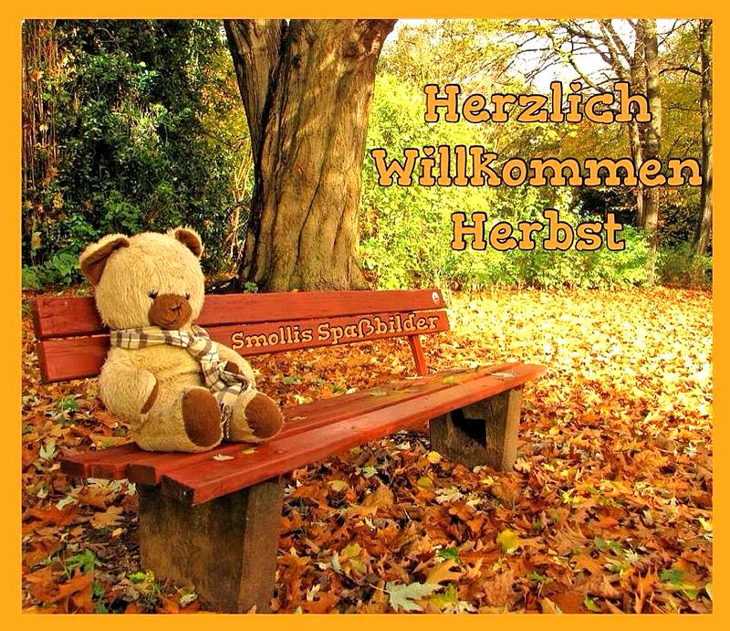 Herzlich Willkommen, Herbst.