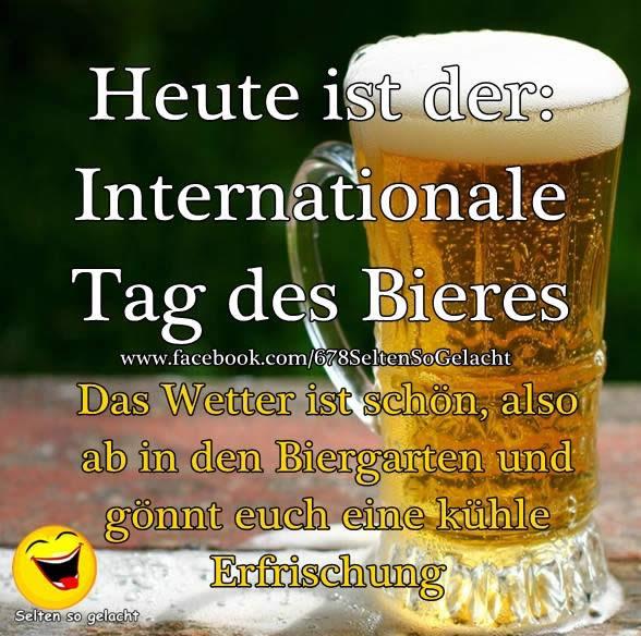 Heute ist der: Internationale Tag des...