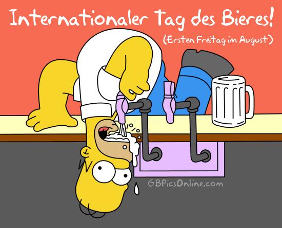 Internationaler Tag des Bieres! (Ersten Freitag im August)