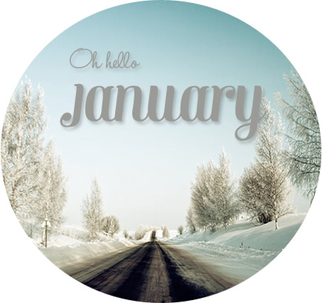 Oh Hello January.