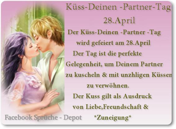 Küss-Deinen-Partner-Tag 3