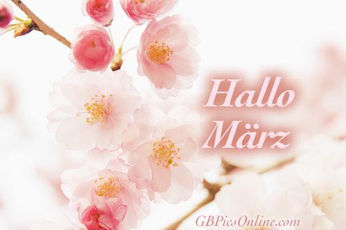 Hallo März.