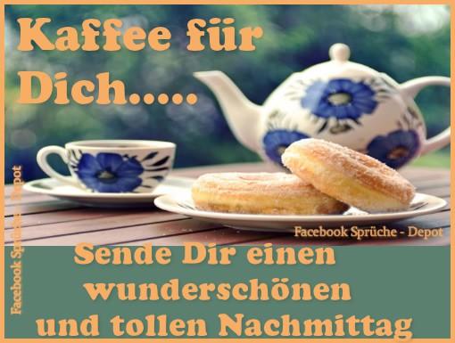 Kaffee für Dich... Sende Dir einen...