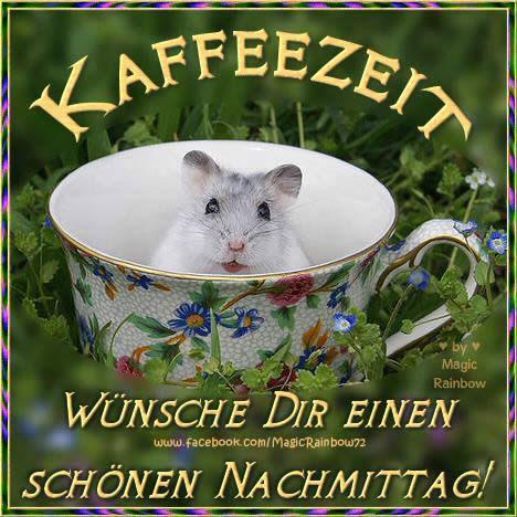 Kaffezeit. Wünsche dir...