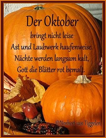 Der Oktober bringt nicht leise...