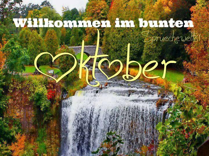 Willkommen im bunten Oktober.