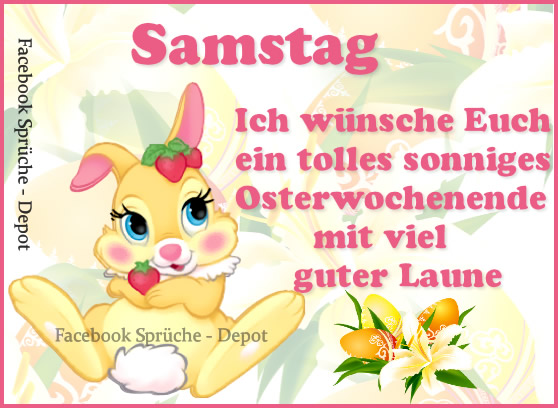 Ostersamstag 8