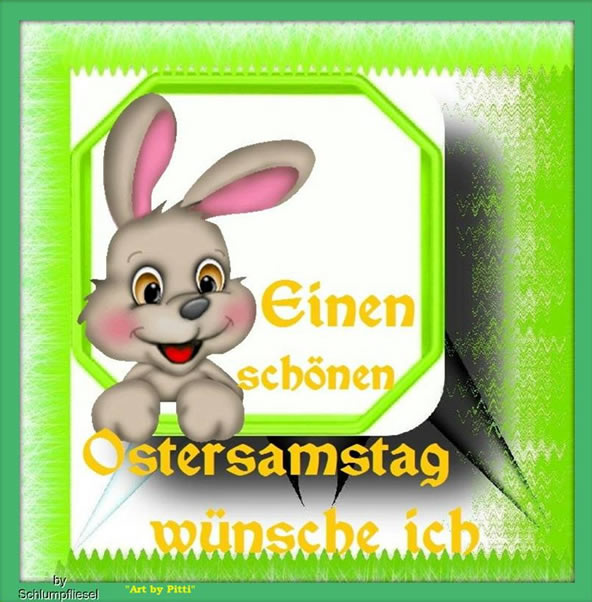 Ostersamstag 9