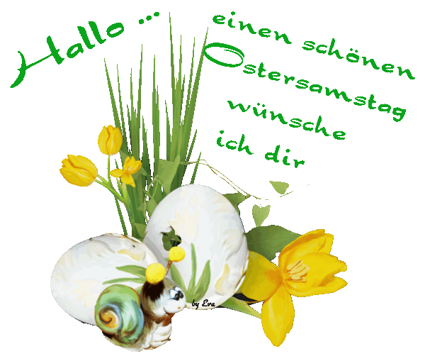 Ostersamstag 10