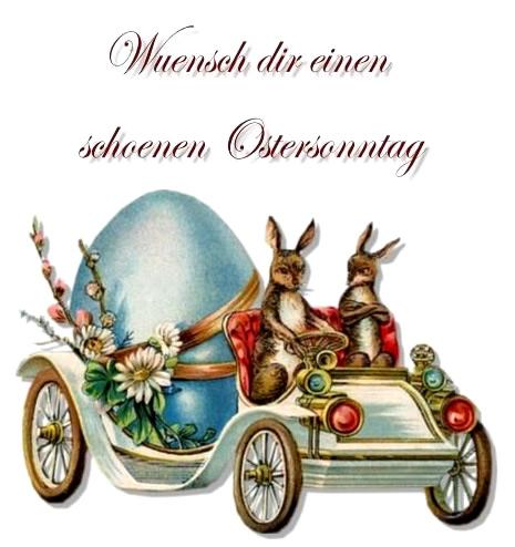 Wünsch dir einen schönen Ostersonntag