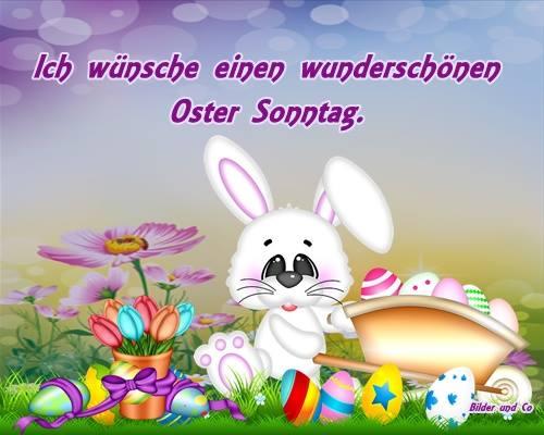 Ich wünsche einen wunderschönen Oster Sonntag