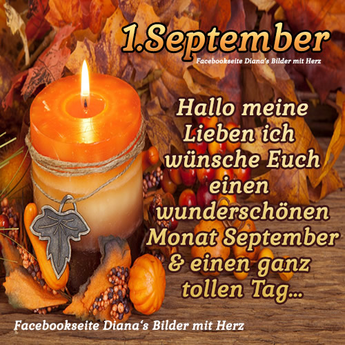 1. September. Hallo meine...
