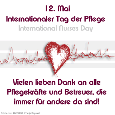 12. Mai Internationaler Tag...