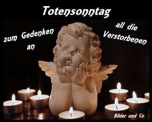 Totensonntag - zum Gedenken an...