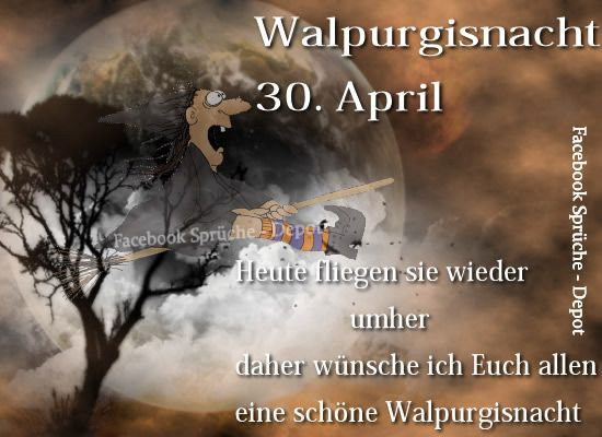 Walpurgisnacht 30. April...