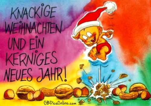 Knackige Weihnachten und ein...