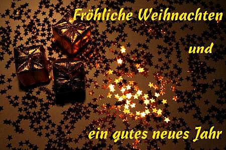 Fröhliche Weihnachten und...