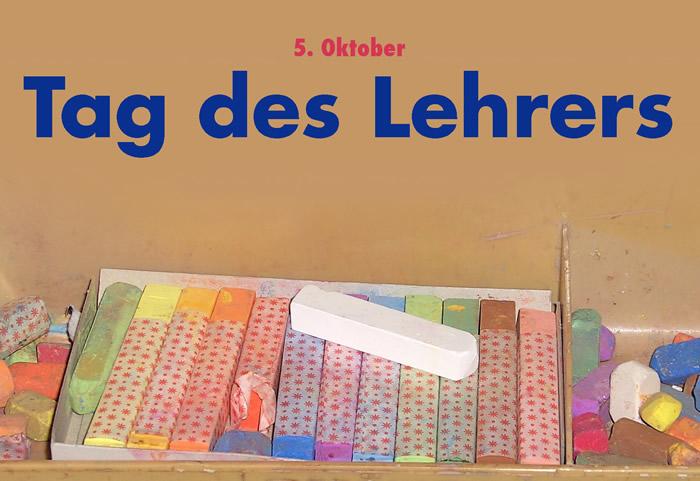 5. Oktober- Tag des Lehrers
